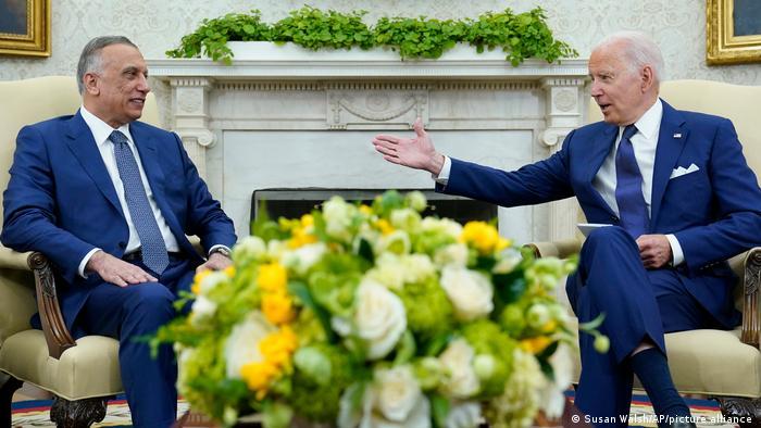 USA I Joe Biden und Mustafa al-Kadhimi