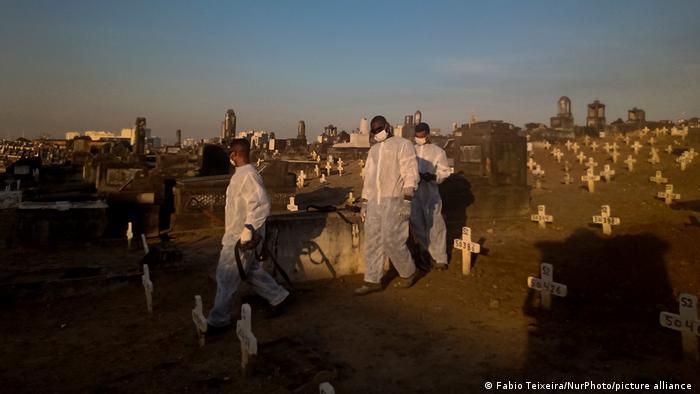 Brasilien COVID-19   Todesfälle