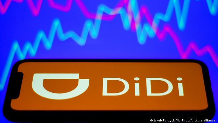 Symbolbild DiDi bei der Börse