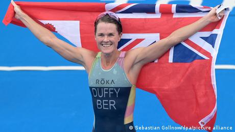 <div>Tokyo Olympics Digest: Flora Duffy wins Bermuda's first-ever gold</div>