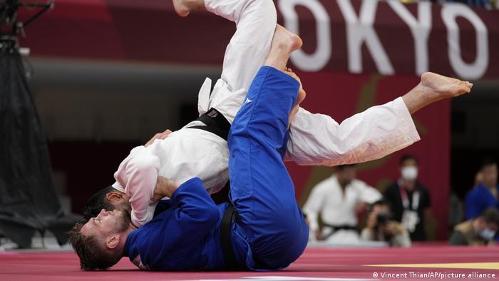 Tokyo 2020 | Judo: Dominic Ressel aus Deutschland - Wesam Abu Rmilahaus Palästina
