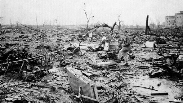 Hiroshima nach dem Abwurf (Foto: AP)