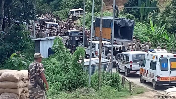 Indien l Grenzkonflikt, Assam und Mizoram