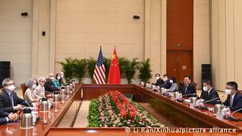 China USA l stellvertretender Außenminister Xie Feng bei Gesprächen mit US-Vertretern
