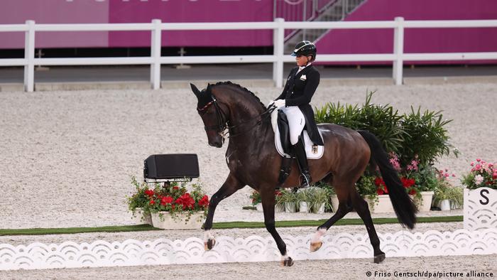 Japan Tokio   Dressur Dorothee Schneider   Olympische Spiele 2020