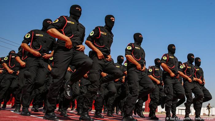 Sjedinjene Države pomažu u edukaciji i treniranju iračkih antiterorističkih snaga