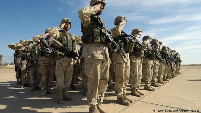 Irak Beiji   US Soldaten   1st Battalion