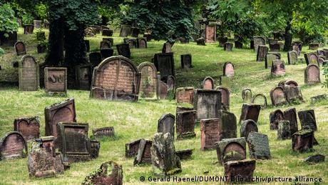 Deutschland Juedischer Friedhof in Worms