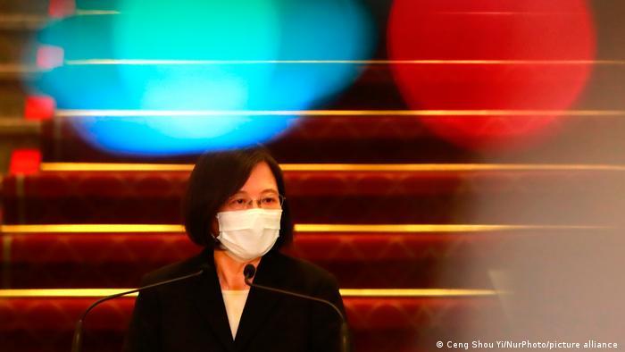 Taiwan Premierministerin Tsai Ing-Wen