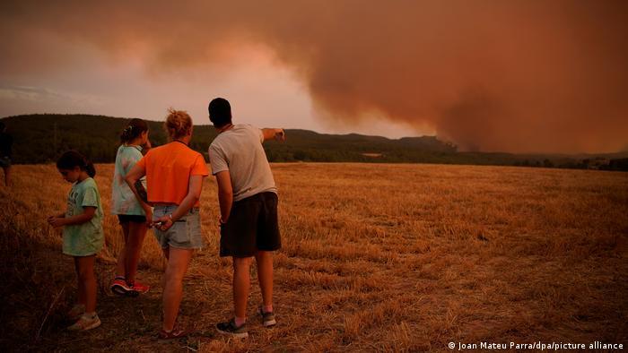 У Каталонії згоріли 1600 гектарів