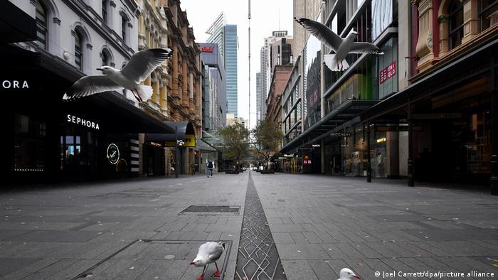 Australien Sydney Lockdown Corona