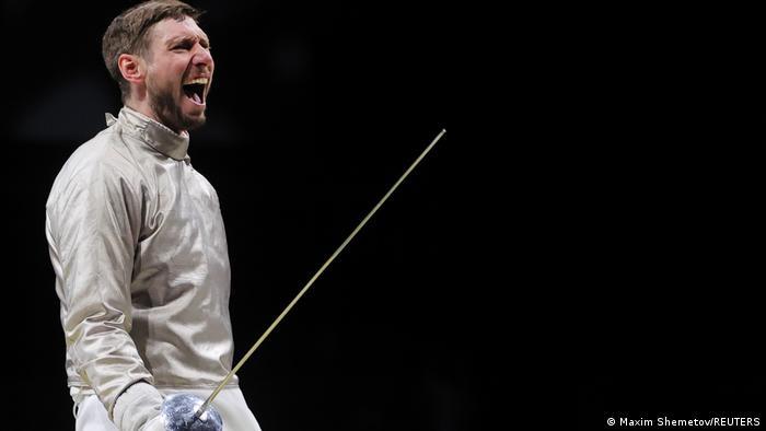 German fencer Max Hartung