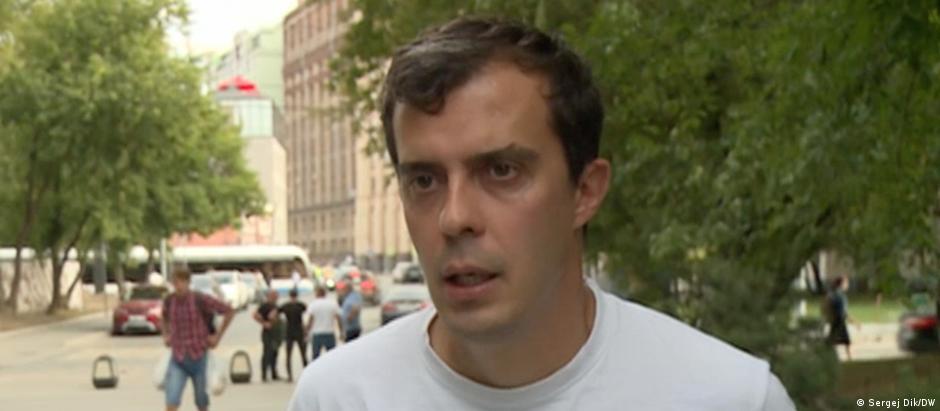 Журналист Роман Доброхотов