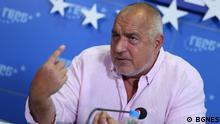 Bojko Borissov, Ex-Ministerpräsident Bulgariens, 18. Juli 2021 © BGNES