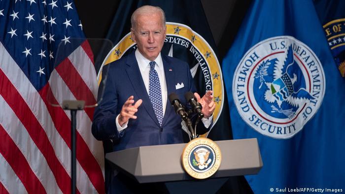 McLean, USA | Joe Biden zu Besuch bei ODNI