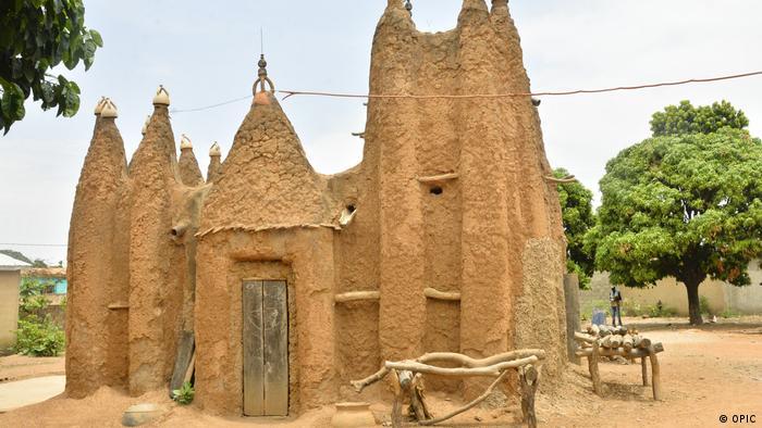 Мечеті в суданському стилі в Кот д'Івуарі