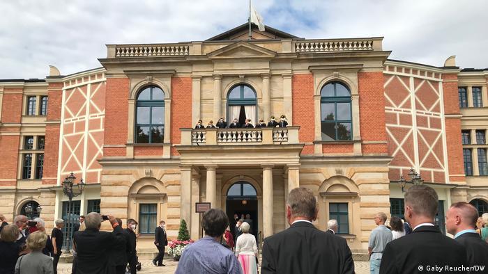 Bayreuhter Festspielhaus, el teatro de Wagner en Bayreuth