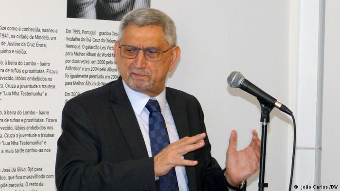 Portugal Lissabon Veranstaltung Präsident Jorge Carlos Fenseca von Kap Verde