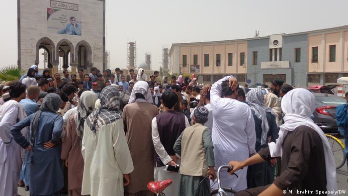 Afghanistan Kandahar |Einwohner protestieren gegen Unsicherheit