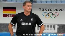 Stefan Kuntz at the 2020 Olympics