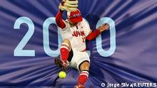 28/07/2021*** Tokyo 2020 Olympics - Softball - Women - Finals - Gold Medal Game - Japan v United States - Yokohama Baseball Stadium - Yokohama, Japan - July 27, 2021. Eri Yamada of Japan in action. REUTERS/Jorge Silva TPX IMAGES OF THE DAY