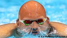 July 28, 2021*** Tokyo 2020 Olympics - Swimming - Men's 200m Breaststroke - Semifinal 2 - Tokyo Aquatics Centre - Tokyo, Japan - July 28, 2021. Matti Mattsson of Finland in action REUTERS/Kai Pfaffenbach TPX IMAGES OF THE DAY