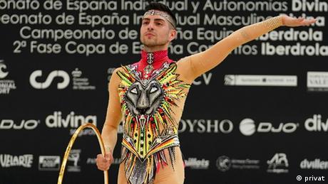 Sportgymnast Cristofer Benitez