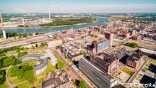 Krefeld, Deutschland | Luftaufnahme Chempark