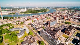 Индустриальный парк в Леверкузене