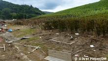 Flutwein Bilder aus Marienthal, das auch vom Hochwasser der Ahr überschwemmt wurde.