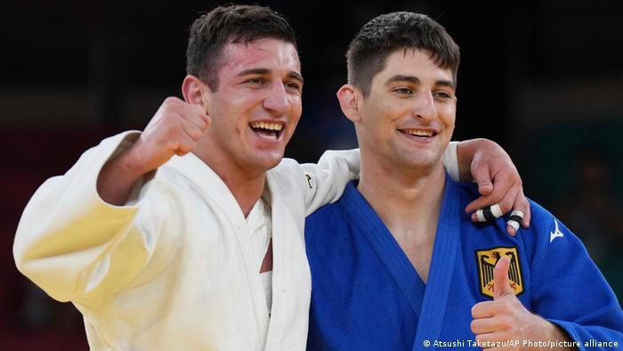 Olympische Sommerspiele 2020 |Judo | Lasha Bekauri, Georgien vs. Eduard Trippel, Deutschland