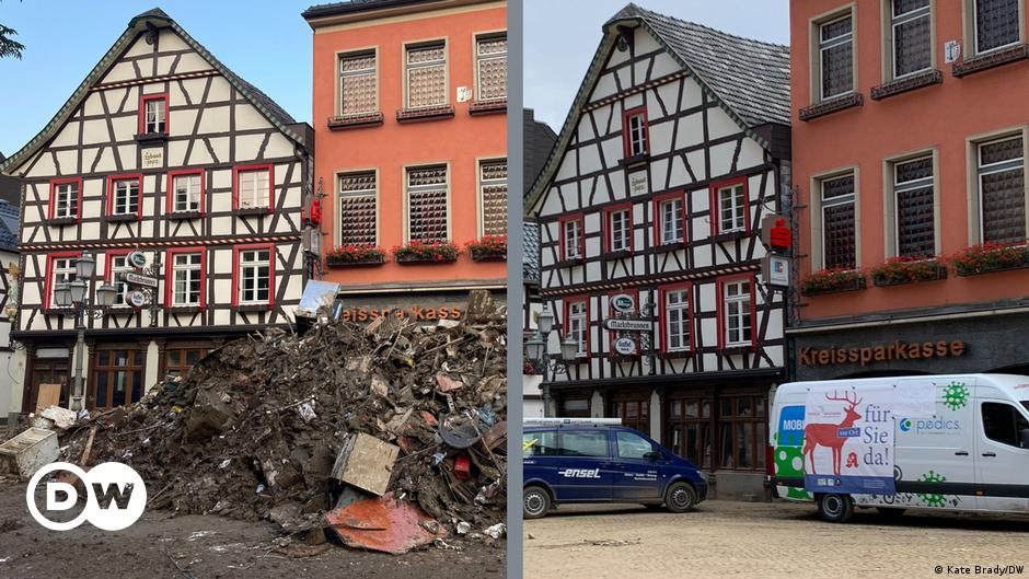 Germany floods: The challenge of waste disposal
