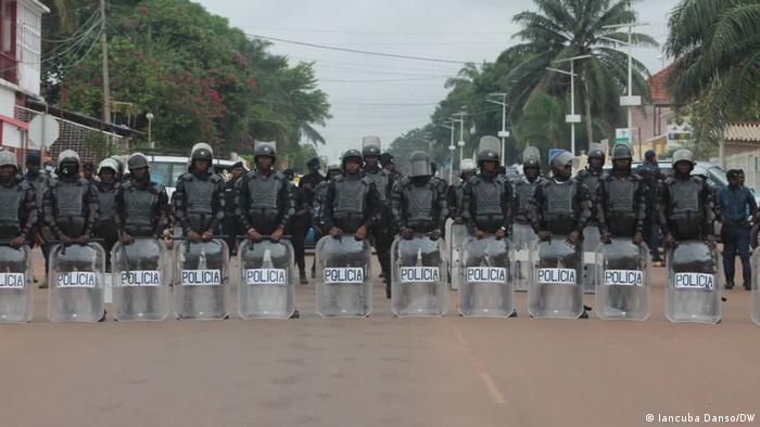 Guinea-Bissau | Demonstrationen | Polizei