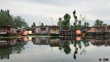 Houseboats on Dal Lake in Kashmir