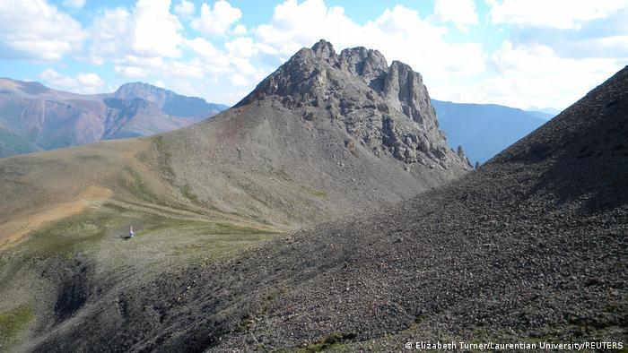 Lugares de los Territorios del Noroeste de Canadá donde se encontraron los fósiles.
