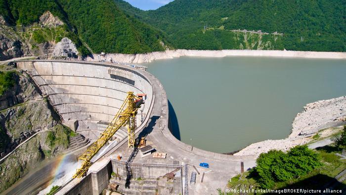 Enguri hydroelectric dam, Georgia