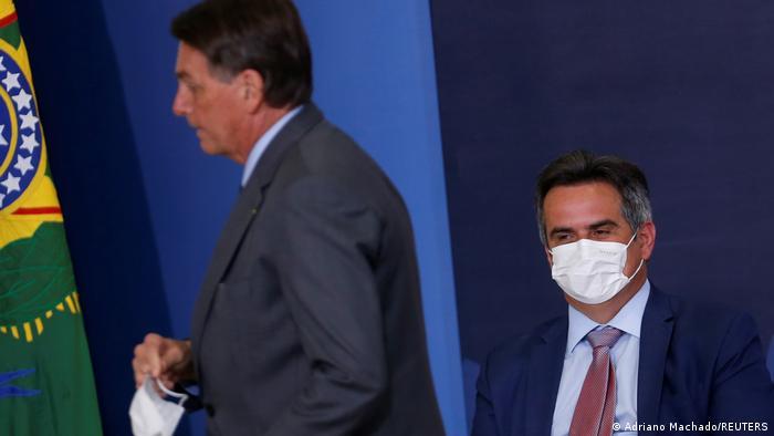 Bolsonaro e Ciro Nogueira