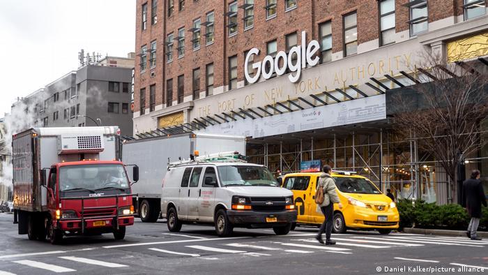 USA: Google Niederlassung, New York