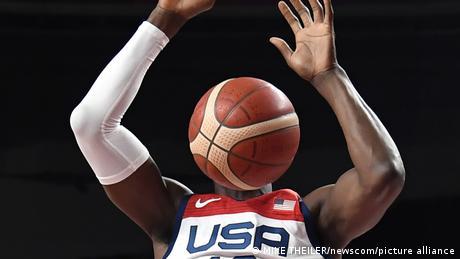 Tokyo2020 Olympia USA vs Iran Basketball