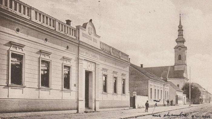 Geschichte der Stadt Glina, Kroatien