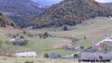 Das rumänische Dorf Ciocanu. 2021