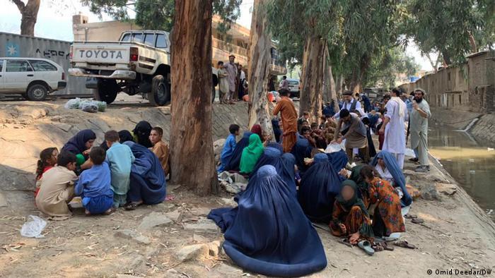Kriegsvertriebene in Kunar Provinz Afghanistan