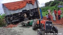 Three People killed road accident in Cumilla