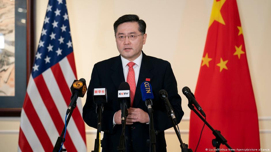 中國新任駐美大使秦剛
