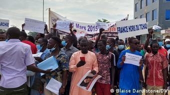 Pour certain manifestant ce jeudi 29 juillet est un grand jour pour la démocratie tchadienne