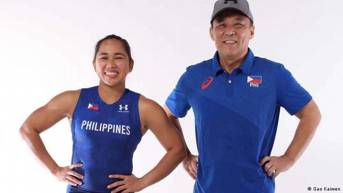 Hidilyn Diaz wins the first Olympic gold for the Philippines at Tokyo 2020