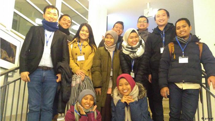 Privatbild Timmy Ricardo, Student der Virologie aus Indonesien
