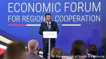 Nord-Mazedonien Wirtschaftsforum in Skopje | Zoran Zaev, Premierminister