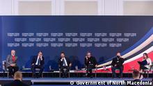 Wirtschaftsforum in Skopje, Nord-Mazedonien, 29.07.2021 © Government of North Macedonia
