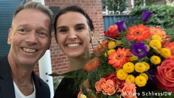 Deutschland Bayreuth   Gero Schliess und Oksana Lyniv